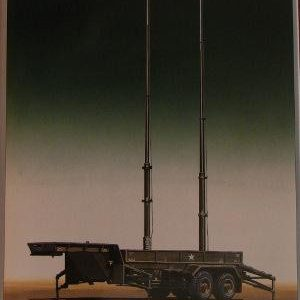 Patriot Antenna Mast