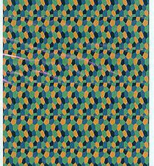 Lozenge 4 colores