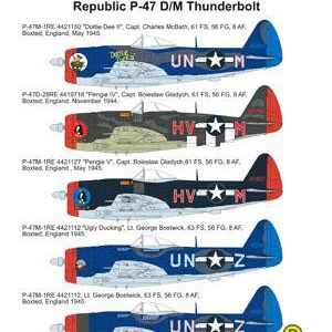 Republic P-47 D/M Thunderbolt