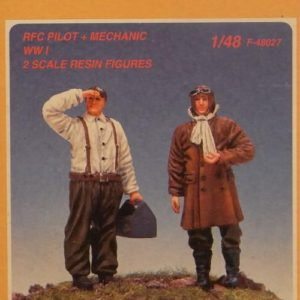 RFC Pilot and Mechanic WWI