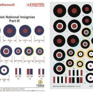 British National Insignias Part III