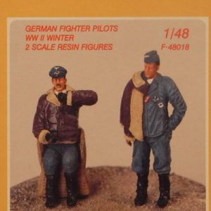 German Fighter Pilots WWII Winter