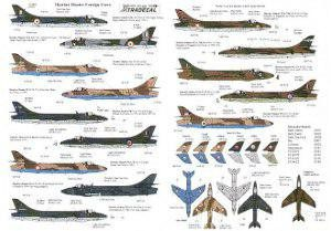 International Hawker Hunters: Abu Dhabi, Chile, India, Kenya, Kuwait, Oman, Qatar, Rhodesia, R. Saudi, Singapore, Zimbabwe.