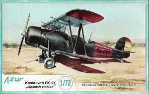 "Koolhoven FK-51 ""Spanish Version"""