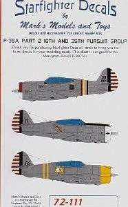 P-36 A Pt.2 16Th and 35Th Pursuit Group