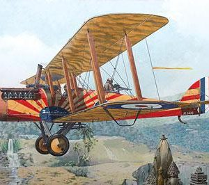 De Havilland DH4 with Puma Engine