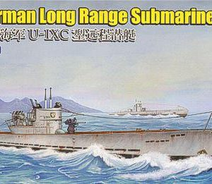 German Long Range Submarine U-IXC