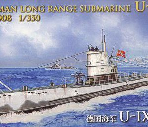 German Long Range Submarine U-IX