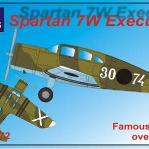 Spartan 7W Executive Over Spain