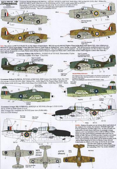Yanks with roundels. Part 2 US Aircraft in Fleet Air Arm Service
