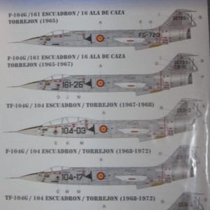 F-104 G/ TF-104G Starfighter