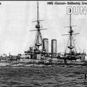 Battleship HMS Duncan 1903