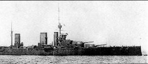 Battlecruiser HMS Lion 1912