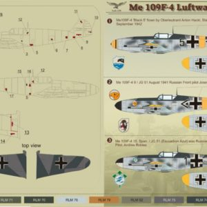 Me 109 F-4 Luftwaffe Part 2