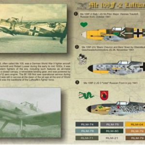 Me 109 F-2 Luftwaffe Part 2