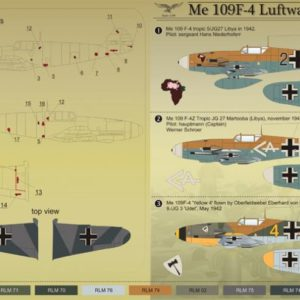 Me 109 F-4 Luftwaffe Part 1