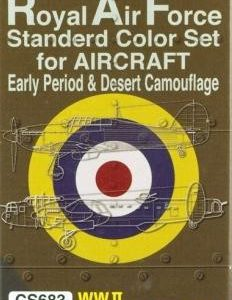 RAF Standard Color Set Early Camouflage and Desert