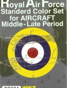 RAF Standard Color Set for Middle and Late Period