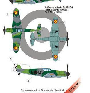 Bf 109 F-4 Over Spain