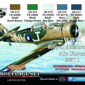 Royal Australian Air Force WWII Set 1
