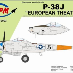 P-38 J European Theater