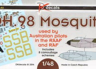 DH-98 Mosquito Used by Australian pilots in the RAAF and RAF