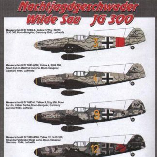 Messerschmitt Bf 109 G JG 300 Part 2