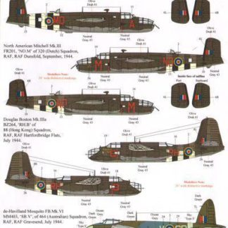 70 th Anniversary D-Day Part 2 RAF, FAA and Commonwealth Multiple Engined Types