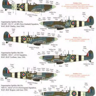 70 th Anniversary D-Day Part 1 RAF, FAA and Commonwealth Fighters and Sinle Engined