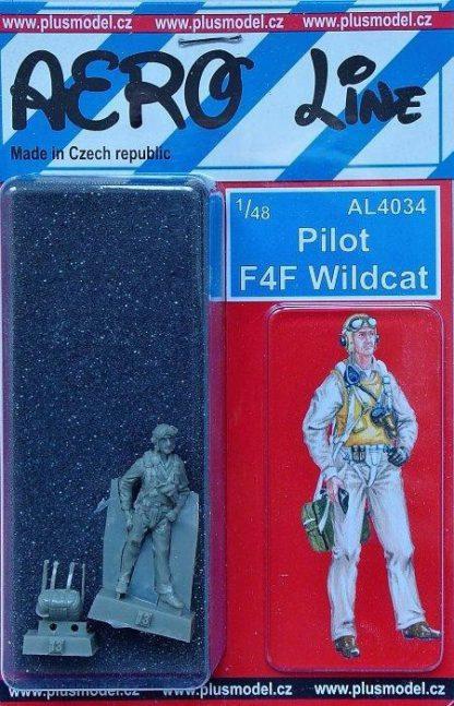Pilot F4F Wildcat