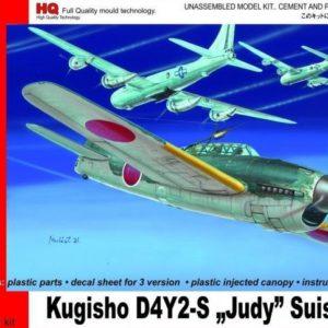 "Kugisho D4Y-2-S Suisei ""Judy"""