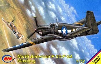 North American P-51/ F-6A Mustang