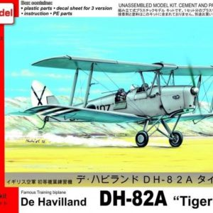 DH 82-A Tiger Moth Over Spain