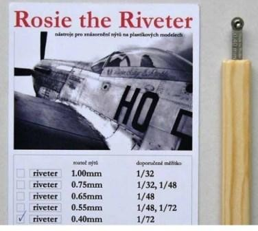 Rosie the Riveter 0.40 mm (For 1/72)