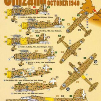 Cinzano Italians Over England October 1940