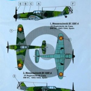 Bf-109 F4 over Spain
