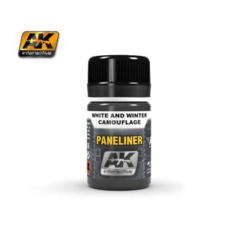Paneliner White and Winter Camouflage