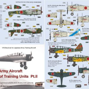 Japanese Army Aircraft of Training Units Part 2