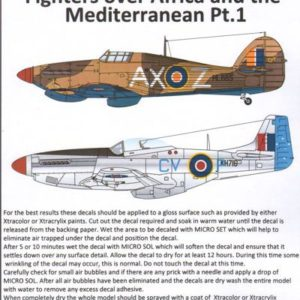 Fighters over Africa and the Mediterranean Part 1