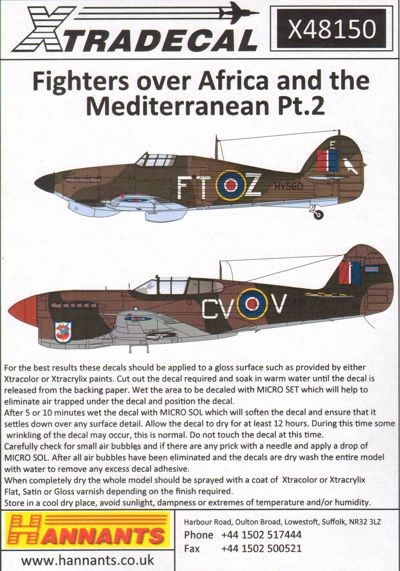 Fighters over Africa and the Mediterranean Part 2