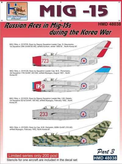 MiG15 Russian Aces in Mig-15s During The Korea War