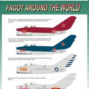 Mig-15 Fagot Around the World