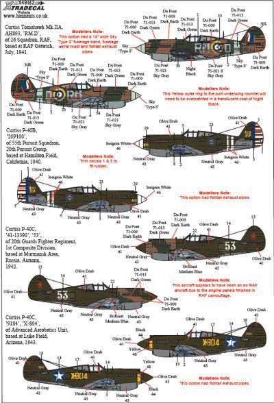 Early Curtiss P-40s Part 1