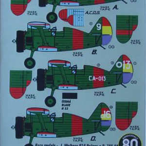 "Polikarpov I-15 ""Chato"" in Spain Part 1 republican A.F."