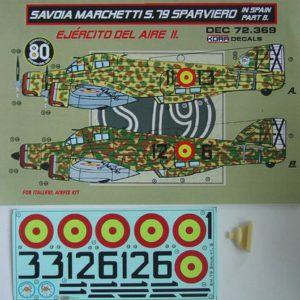 Savoia Marchetti S.79 Sparviero in Spain Part 7