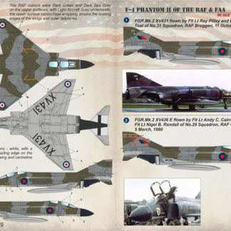 F-4 Phantom II of the RAF & FAA