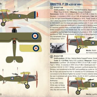 Bristol F.2B Aces of WWI
