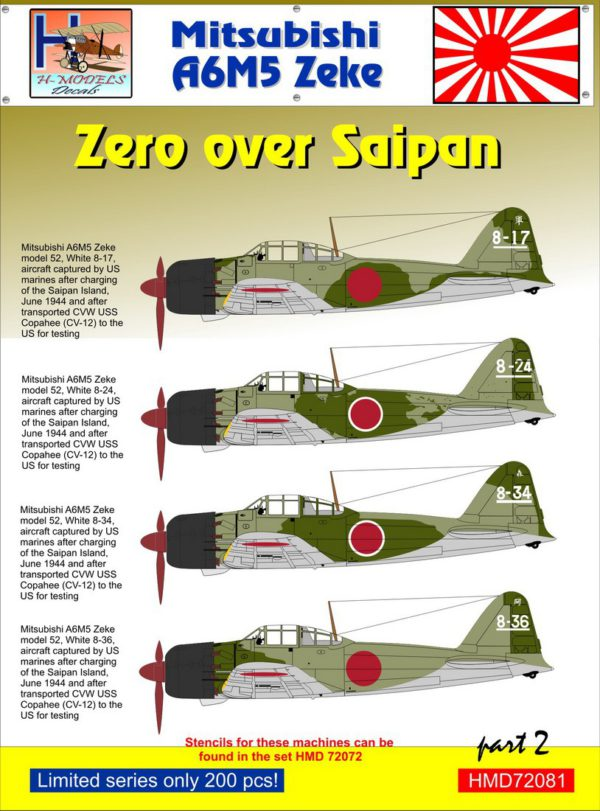 Zero over Saipan Part 2