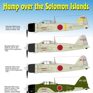 Hamp over the Solomon Islands
