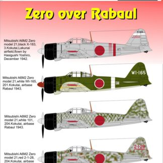 Zero over Rabaul Part 1